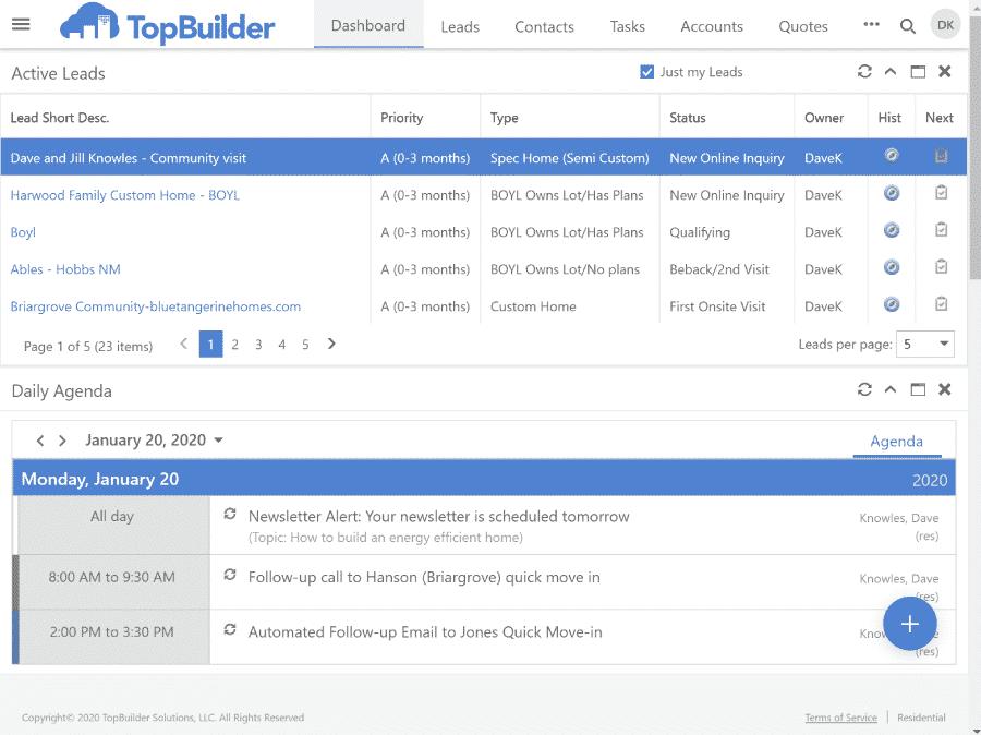 TopBuilder CRM