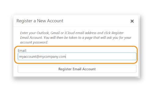 Step 1. 3 - Enter Email Address