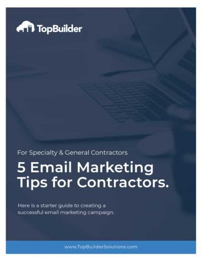 5 Email Marketing Tips for Contractors